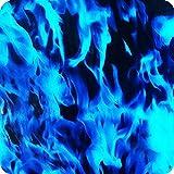 Cubicatura film pellicola hydrographic idrografia - Hydra water transfer printing - TESCHI FIAMME E DEMONI HLC-002 (3)