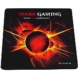 Mars Gaming MMP0 - Alfombrilla de ratón gaming (alta precisión con cualquier ratón, base de caucho natural, alta comodidad, c