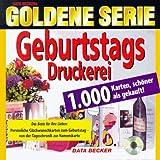 Goldene Serie. Geburtstags- Druckerei. CD-ROM für Windows.