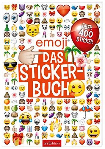 Preisvergleich Produktbild emoji - Das Stickerbuch: Mit 800 Stickern (Mein Stickerbuch)
