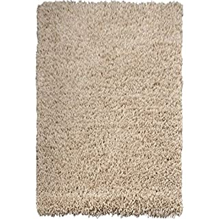 Large 5cm Thick Shag Pile Soft Shaggy Area Rugs Modern Carpet Living Room Bedroom Mats (120x170cm (4'x5'6