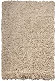 "Large 5cm Thick Shag Pile Soft Shaggy Area Rugs Modern Carpet Living Room Bedroom Mats (120x170cm (4'x5'6""), Light Beige)"