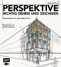 """Wie erzeugt man beim Zeichnen Perspektive? Welche Arten von Perspektive gibt es überhaupt? Wie entstehen aus Linien und Strichen schnell und einfach perspektivisch korrekte Kunstwerke? Diese und weitere wichtige Fragen beantwortet das Handbuch """"Persp..."""