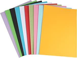 MSGH A3 Pastel Sheet for Greeting Cards, Art & Craft - 50 Sheets. 10 Colour, 160 GSM