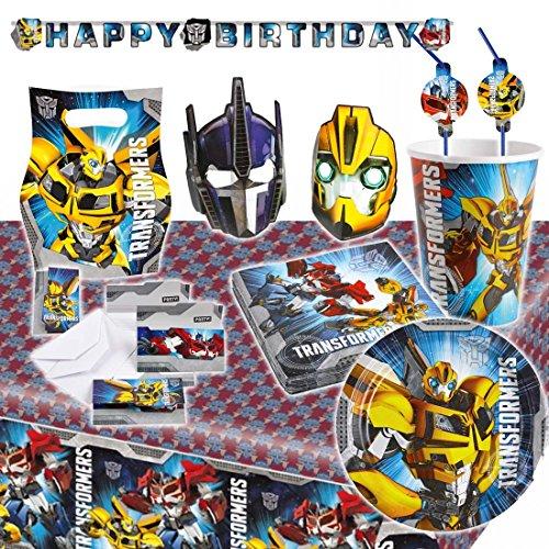 8 bicchieri dei Transformers 2 266 ml Calici monouso set da tavola per compleanno Bicchieri per festa - Addobbi per festeggiamenti bicchierini per bimbi Coppe di carta festa ragazzini Accessori per la tavola di cartone autobot Articoli per anniversario decepticon