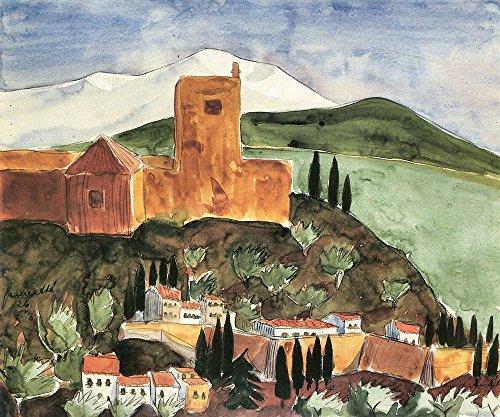 Das Museum Outlet-Granada II von Walter Gramatte-Leinwand -