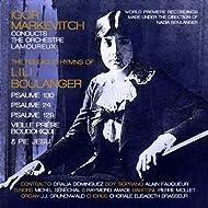 The Religious Hymns of Lili Boulanger: Psaumes Nos. 130, 24, 129, Vieille prière bouddhique & Pie Jesu