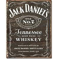 JACK DANIELS WHISKEY grande, Bar e Pub Vintage Retro Metal Tin Sign 1916-Targa da parete