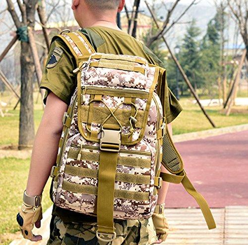BAAFG Männer Im Freien Nylon Schulterbeutel Große Kapazität Reisen Bergsteigenbeutel Männer Und Frauen Freizeitsportpaket 4