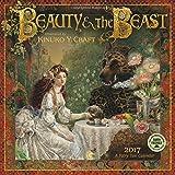 Beauty and the Beast 2017 Wall Calendar: 2017 Fairy Tale Calendar