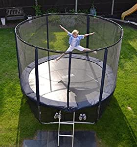 Cortez Premier 14ft Trampoline with Enclosure and Free Ladder