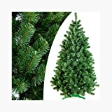 DecoKing Künstlicher Weihnachtsbaum Tannenbaum Christbaum Tanne Lena, Plastik, grün, 180 cm