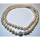 Necklace Pearl Kind natural freshwater 8mm - 87Units -70cm