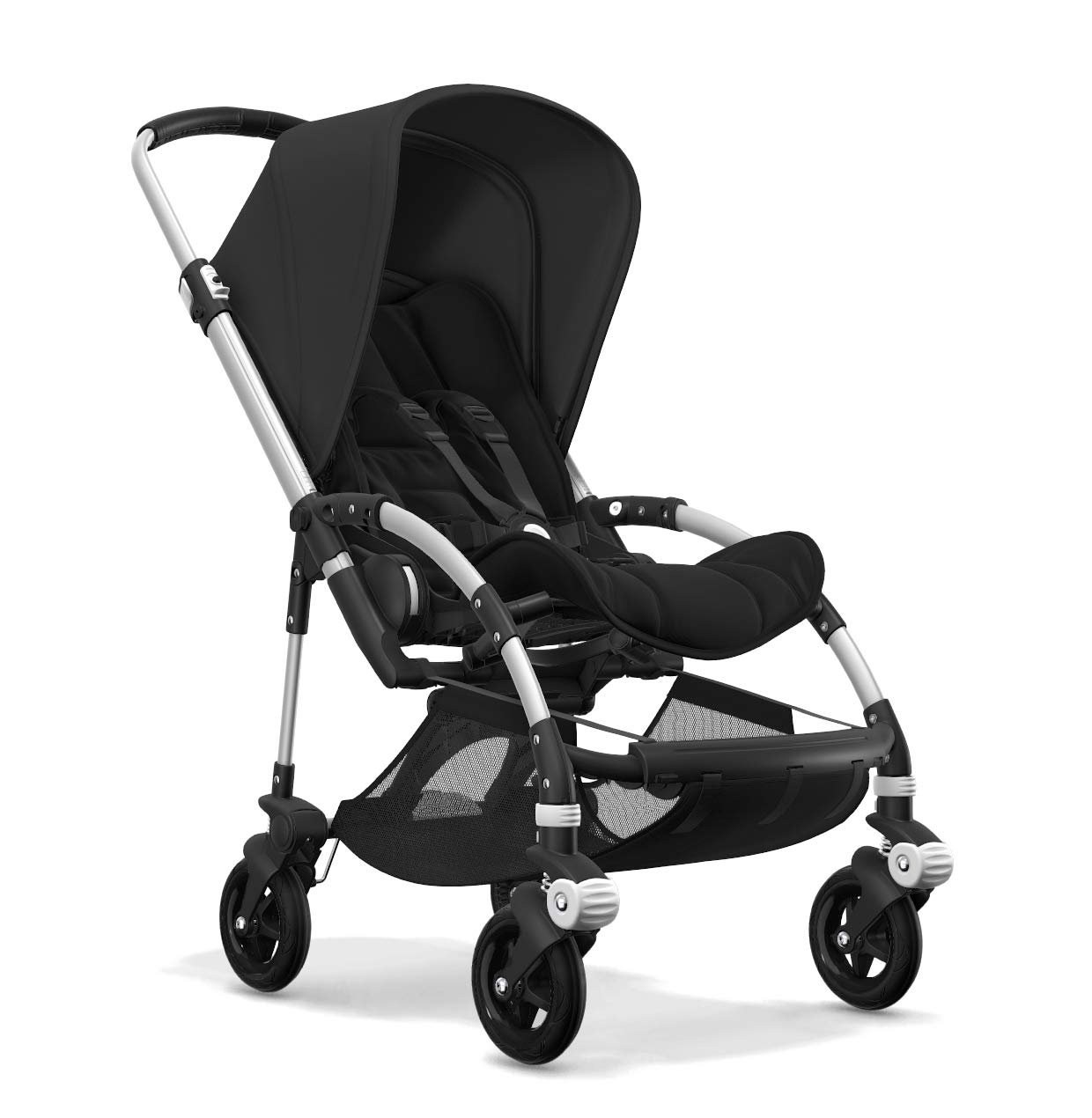 Bugaboo Bee 5, Foldable and Lightweight Pushchair, Converts Into Pram, Black Bugaboo The perfect choice for city living Compact yet comfortable for parent and baby Light and easy one-piece fold for small spaces 2