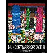 Hundertwasser Art Calendar 2018