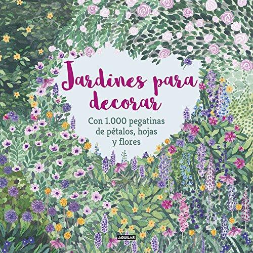 Jardines para decorar con 1.000 pegatinas de pétalos, hojas y flores (Ocio y tiempo libre)
