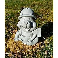 Gartenfigur: der kleine Maulwurf - Stein Figur für Kinder frostfest