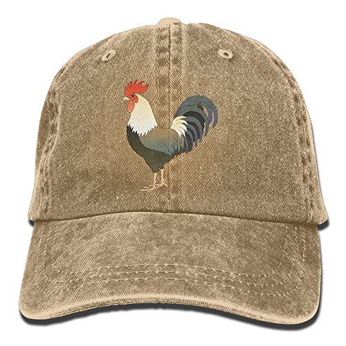 Dress rei Lifelike Rooster Cock Denim Baseball Caps Hat Adjustable Cotton Sport Strap Cap for Men Women