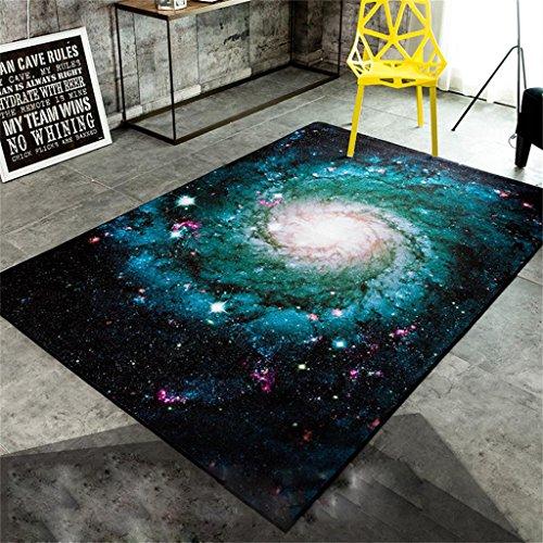 Persönlichkeit kreativ Moderne Mode Teppich Wohnzimmer Schlafzimmer Stern Galaxis Romantik Bequem...