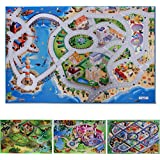 Spielmatte   verschiedene Motive   Phthalat-frei   erweiterbar zu einer riesigen Spiellandschaft   Spielteppich Größe 100 x 150 cm