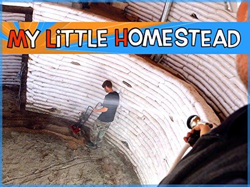 underground-earth-bag-building-soil-cement-subfloor-in-basement