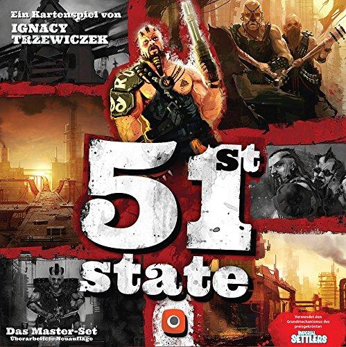 Wydawnictwo Portal POP01001 - 51st State: Master Set Deutsch, Familien Standardspiele