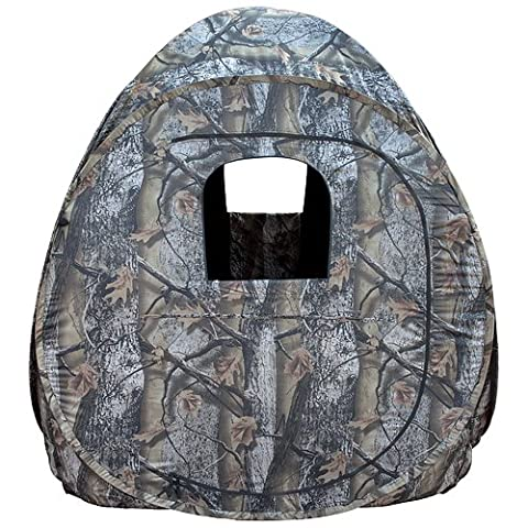 Big Dog Treestands Pop Up Blind, 60 x 60 x 68-Inch H/9.5-Pounds, Timberstrike by Big Dog Treestands