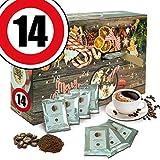 Jubiläumsgeschenk 14. | Advent Kalender | Adventskalender Kaffeebohnen Erwachsene Adventskalender Kaffeebohnen Adventskalender aromatisierter Kaffee Adventskalender aromatisierter Kaffee 2018 Adventskalender aromatisierter Kaffee