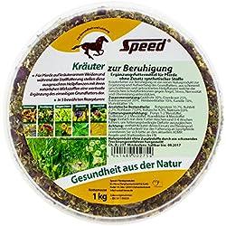 Speed Kräuter zur Beruhigung – Pferdekräuter, die Ihr Pferd auch in Ausnahmesituationen hilft, entspannt zu bleiben (1000 g)