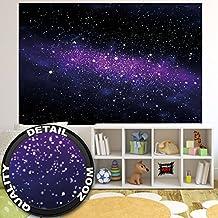 Fototapete Sterne Wandbild Dekoration Kinderzimmer Weltraum Stars Galaxy Sky Sternenhimmel Universum Space All Kosmos Weltall