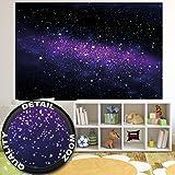 Fototapete Galaxie im Weltraum Wand-dekoration - Wandbild Sternenhimmel Poster-Motiv by GREAT ART (210 x 140 cm)