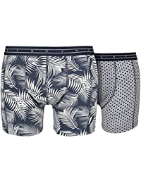 Scotch and Soda 142282 Mens Printed 2p Boxer Shorts