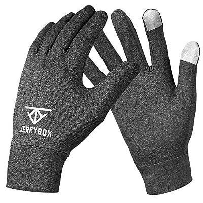 Jerrybox Touchscreen Handschuhe, Touch Gloves, Sporthandschuhe, Trainingshandschuhe, Fitnesshandschuhe, Vollfingerhandschuhe für Touchscreen Geräte, S, M, L
