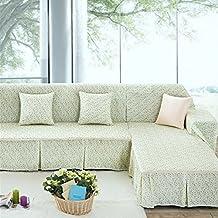 LY&HYL Textiles para el hogar Cobertura completa Sofa Protector Resbalón-resistente Sofá Cobertura Sofá combinación Toalla Single / Two / Three / Cuatro asientos Plain Couch Cover , 215*300Sofa Cover