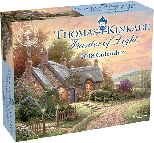 Official Thomas Kinkade Painter of Light 2018 Day-to-Day Calendar