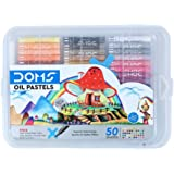 DOMS Oil Pastel 50 Shades Plastic Pack