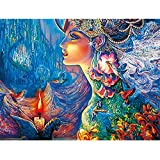 Bestmaple DIY Diamond Painting by Number Kits 5D Full Diamond Embroidery Paintings Pictures Arts Craft for Home Wall Decor (C