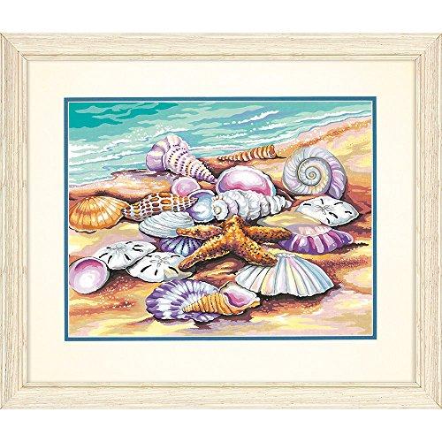 Maße 91526Muscheln paintworks Malen lernen, 35,6x 27,9cm (Malerei Muscheln)