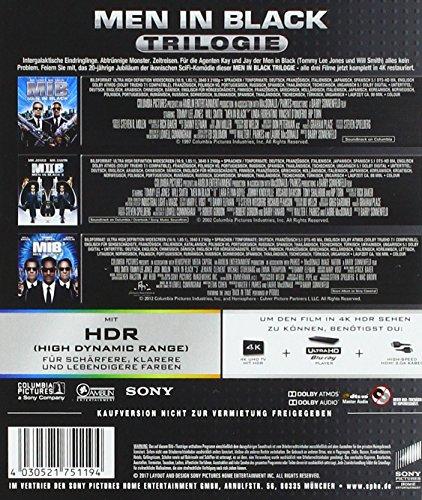 Men in Black Trilogie – Ultra HD Blu-ray [4k + Blu-ray Disc] - 2