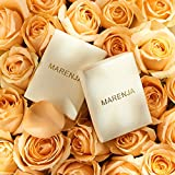 """MARENJA-Christmas Gift Women's Fashion Necklace-3 Interlinked Rings Pendant Engraved """"Mum Thank you for all you do"""" & """"I love you Mum""""-White Gold Plated Crystal Jewellery Bild 4"""