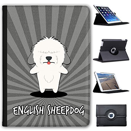 anglais-cartoon-chiens-fancy-a-snuggle-etui-en-similicuir-avec-support-de-visionnage-pour-tablettes-