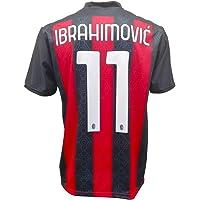 Maglia Ibrahimovic Milan 2021 Ufficiale 2020-2021 Adulto Ragazzo Bambino Ibra Zlatan 11 UNDICI