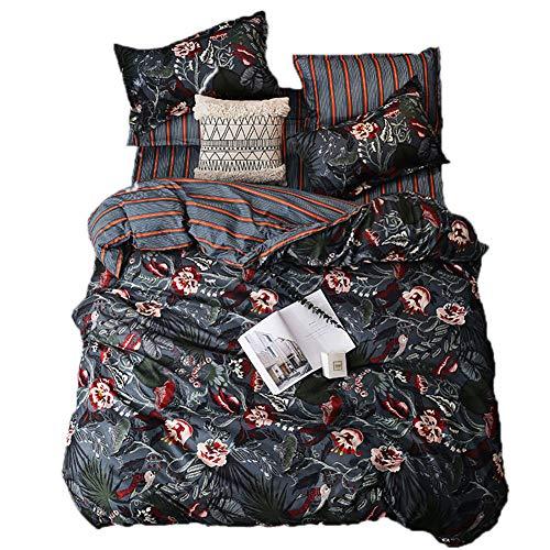 BFMBCH Modelli di esplosione, nuovi prodotti, lenzuola a grandezza Naturale, Fiori singoli, TRE o Quattro Set di biancheria da letto A 150 cm * 210 cm