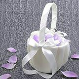 2x Streukörbchen Hochzeit EinsSein® Julia Blumenkinder Hochzeit Blumenkorb Blumenkörbe Blumenmädchen Blumendeko
