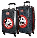 SET 2/TROLLEY ABS 55-68C.4R.HELLO MICKEY NEGRO