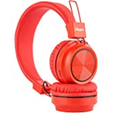 Macjack Wave 300 On Ear Bluetooth Headphones with Thumping Bass & 4D Sound, Inbuilt Mic & 15 Hours of Playback Time, TF…