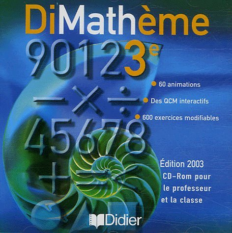 Dimathème : Mathématique, 3e (CD-Rom)