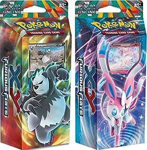 Pokemon XY - Lot de 2 poings furieux Decks à Thème - The Pokémon Company