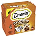 Dreamies Deli-Catz Cat Treats with , 5 g, Pack of 16, 80-Count