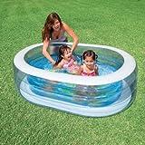 ovaler Pool Wal 163 x 107 x 46 cm